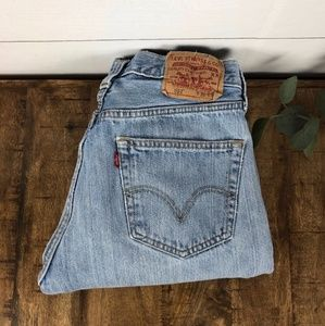 🌸Re-Posh🌸 Women's 31x30 Levi's Straight Leg 501